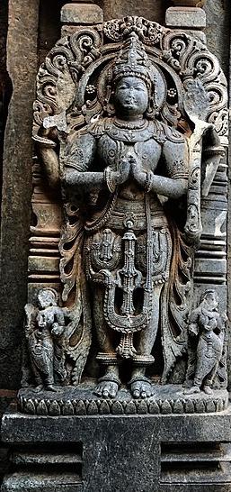 Namaste_13th_century_Keshava_temple_Somanathpur
